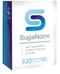 SugaNorm (шуганорм) — капсулы от диабета: отзывы, где купить и не развод ли суганорм