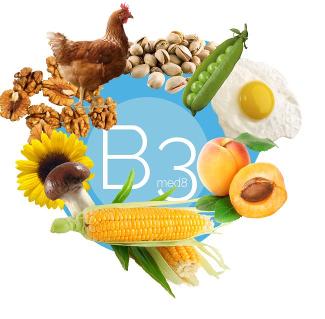 Витамин В3 — в какие продуктах, для чего нужен, таблетки
