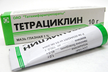 тетрациклин при Балантидиазе