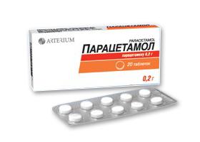 Парацетамол простуды