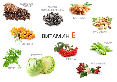 витамин е авитаминоз