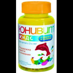 Юнивит кидс с холином, витамин в таблетках