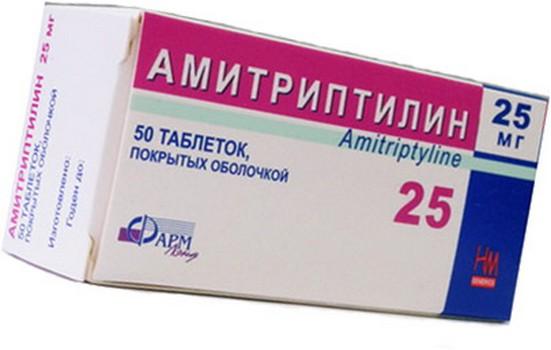 Антидепрессант Амитриптилин и поздняя дискинезия